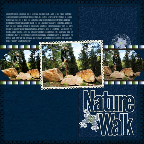 Graphic Nature Page Sample 2