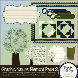 Graphic Nature Element Pack 2