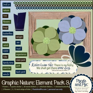 Graphic Nature Element Pack 3