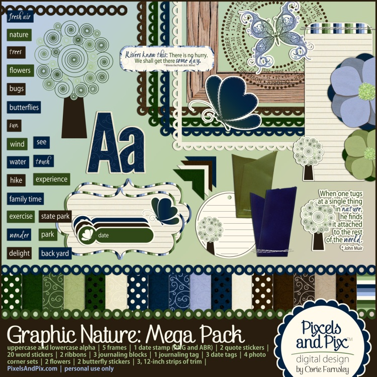 Graphic Nature Mega Pack