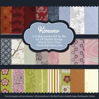 Kimono Kit Paper Preview