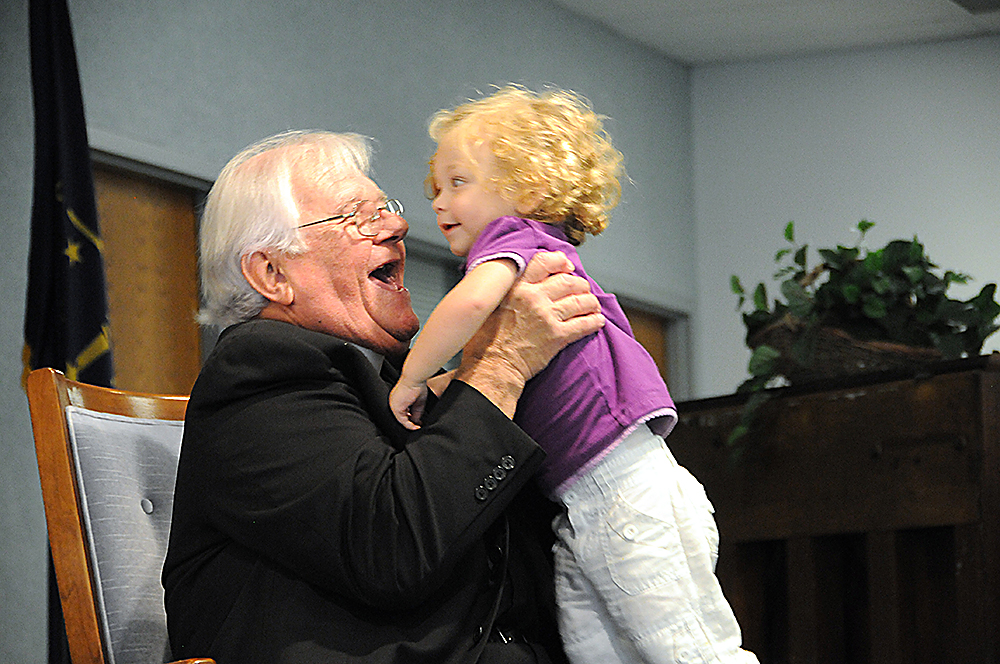 Father John and granddaughter